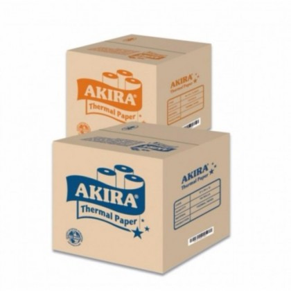 1 box(100pcs) Akira Thermal Paper Roll for Receipt Printer : 80mm x 60mm