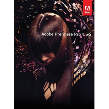 (Promotion) Adobe Premiere Pro CS6 (Original) Retail Box