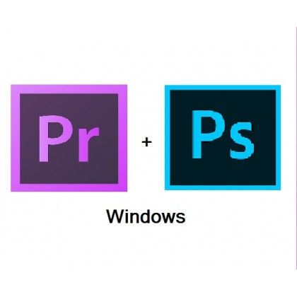 (Adobe Photoshop CC + Adobe Premiere Pro CC ) 2018 For Windows
