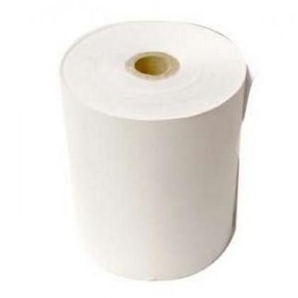 10 rolls 2ply NCR Dot Matrix Paper Roll For Receipt Printer - 76x65x12mm