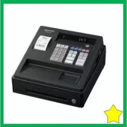SHARP XE-A147BK GST Ready Cash Register (Black)XEA147