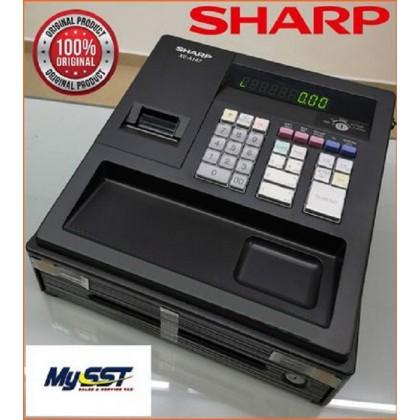 SHARP Cashier Cash Register XEA147 BK ( Ready Stock !!! )