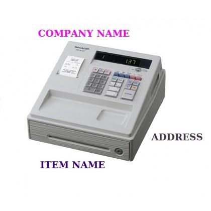 SHARP Cash Register XE-A137(WHITE)
