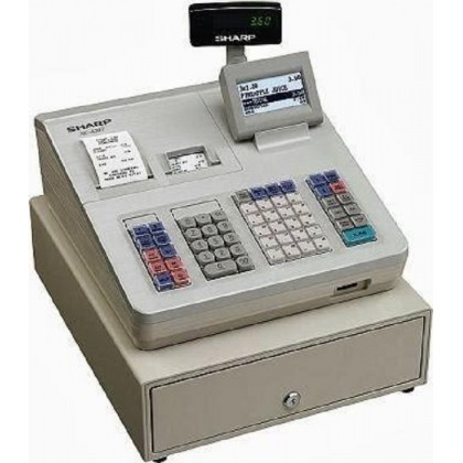 Sharp Cash Register XEA-307 (White)(Demo set) 1 Year Warranty
