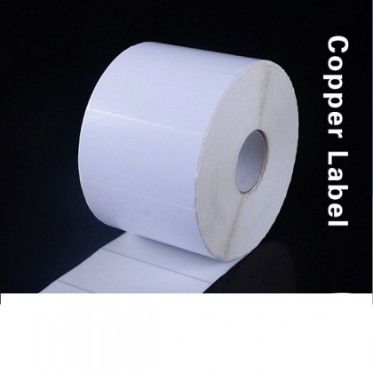 barcode sticker thermal label roll blank paper adhesive art label 100mm*10 20 mm