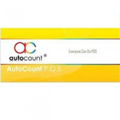 AutoCount POS Basic + Accounting Version 1.9 Edition (With Training & Support)