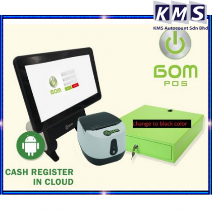 Bom Android Pos System-Advanced Cash Register (Single Screen with Price display) PACKAGE