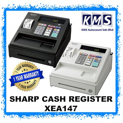 Cash Register Machine (Sharp) XEA147 XE-A147 XEA-147 READY STOCK