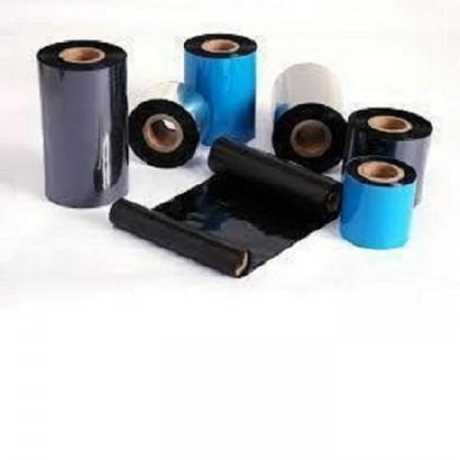 1 roll 30mm x 300mm wax ribbon + 6 rolls 30 mm x 25mm Barcode Label