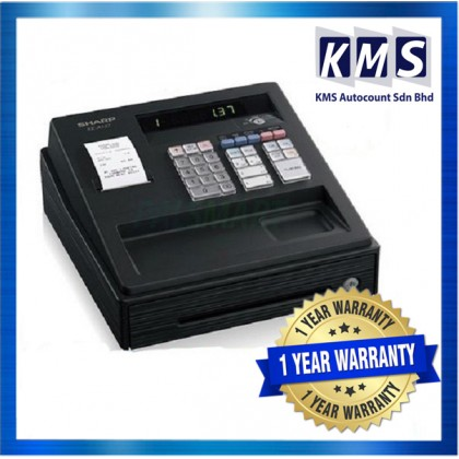 Sharp XE-A137 XEA137 XE-A137BK XEA137BK XE-A147 XEA147 BK Electronic Cash Register Machine Mesin Cashier
