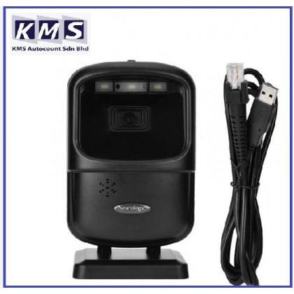 Cashier Scanner 2D Scanning Supermarket Black Platform Barcode 1D USB Reader