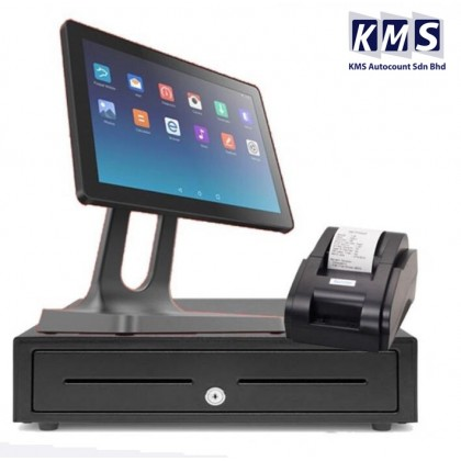 Android All in One 10 inch + Cash drawer + Thermal printer + Lovyerse software for FNB