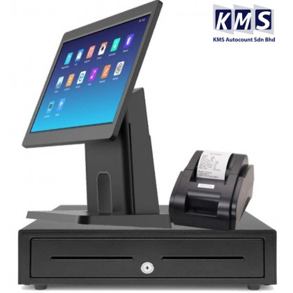 Android All in One 15.6 inch + Cash drawer + Thermal printer + Lovyerse software for FNB