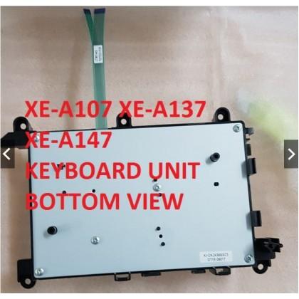 (PARTS) NEW KEY BOARD UNIT SHARP XE-A107 XE-A137 XE-A147 ELECTRONIC CASH REGISTER