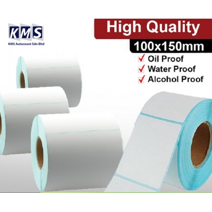 325pcs/Roll Quality Barcode Label Sticker Paper Convenient Cards Blank Tag Print Supplies for Thermal Printer