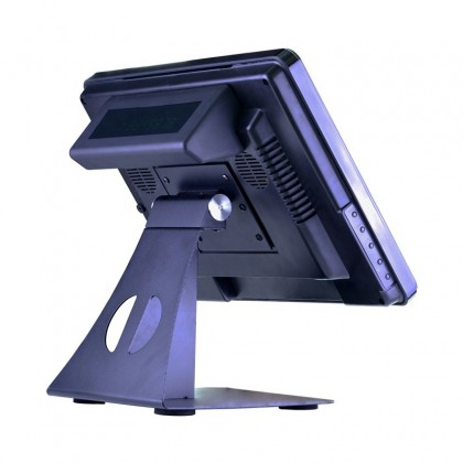 15 inch Touch Screen POS System Cash Register With Free Software For Restaurant