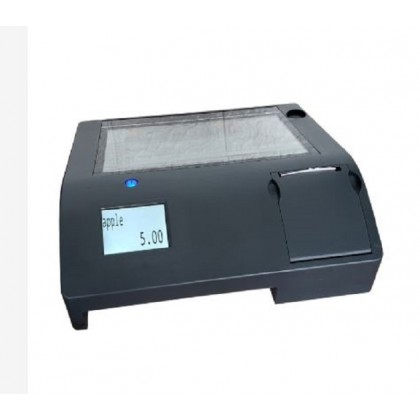 All in One Touch Pos system ECR cash register build in thermal printer and customer display with free software