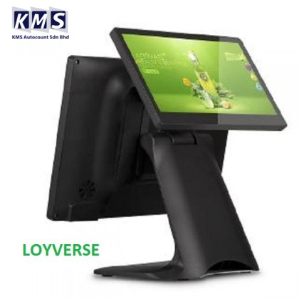 """15.6"""" Capacitive Multi Touch Screen Payment POS System All in One POS Terminal for Grocery Shop"""