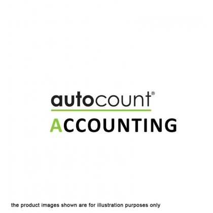 AutoCount Accounting Software 1 Year Online Cloud Hosting Subscription Plan + Free 16GB Pendrive