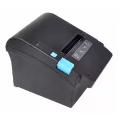 ITPP080 300mm/s 80mm Black Thermal Cashier Receipt Printer with Money Detector USB+Serial+Ethernet Interfaces with Auto Cutter for Supermarket Grocery Store